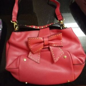 Red delicious betsey Johnson Purse shoulder bag